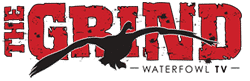 The Grind Waterfowl TV Featured on the Pursuit Channel Logo